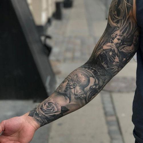 Unique Full Sleeve Tattoos