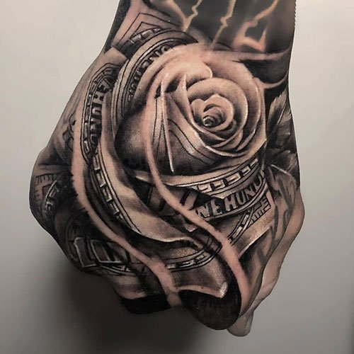 Tattoo Designs For Men Hand: 125 Best Hand Tattoos For Men: Cool Designs + Ideas (2019