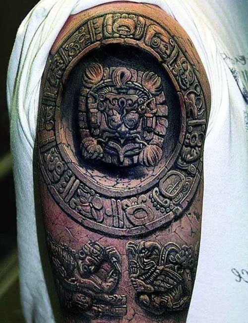 Upper Arm Shoulder Tattoos