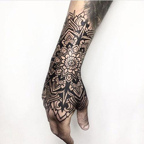Wrist and Hand Tattoos