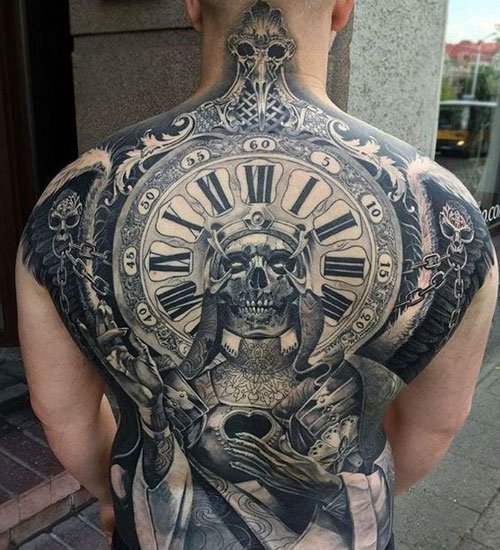 Badass Back Tattoos