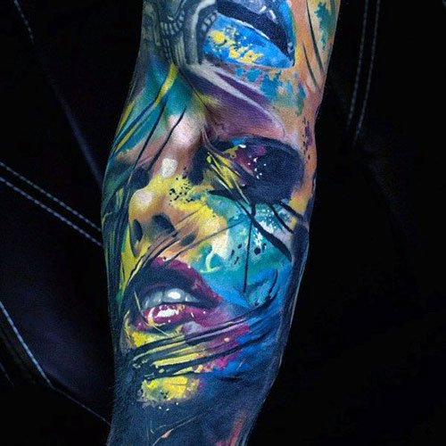 Badass Colorful Tattoos