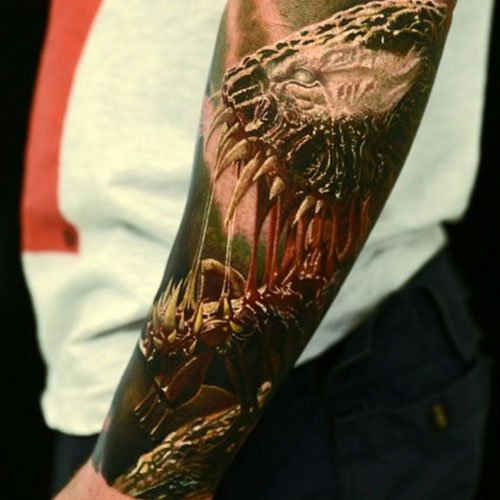 Badass Full Sleeve Arm Tattoos