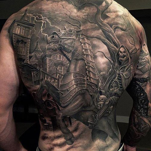 Badass Scary Tattoos