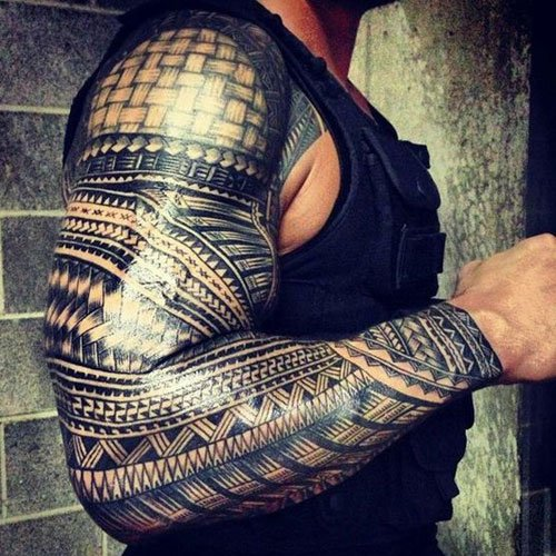 Badass Tribal Tattoo Designs For Men
