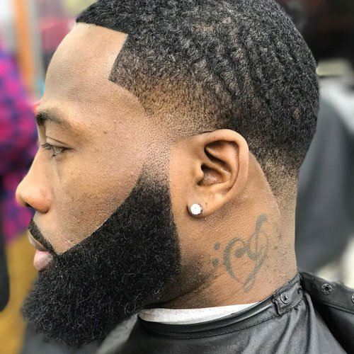 Beard Cuts For Black Men