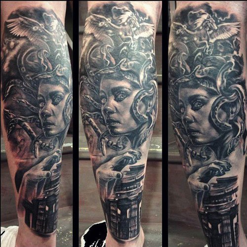 Beautiful Full Arm Tattoos For Men