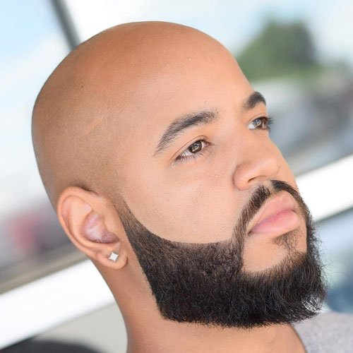 Black Man Beard Shape Up