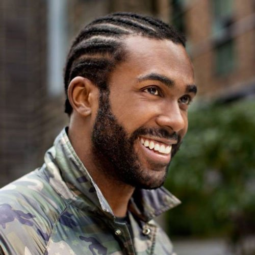 Cool Beard Designs For Black Men