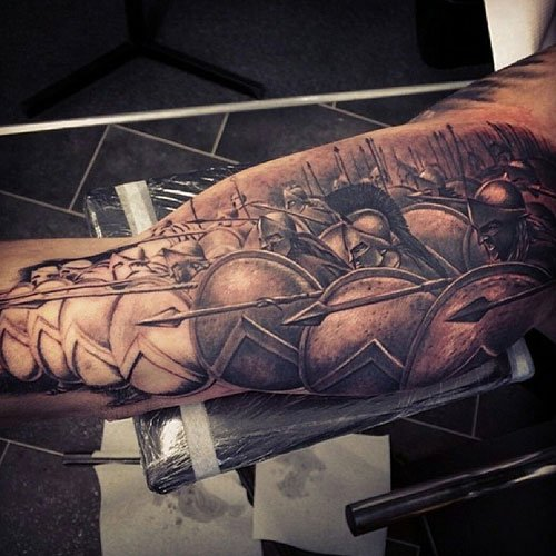 Cool Bicep Tattoos For Men