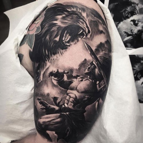 Nice Upper Arm Tattoo Ideas For Men