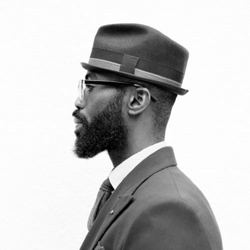 Retro Styled Beard Ideas For Black Men