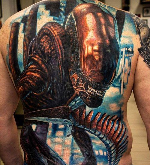 Scary Tattoo Designs For Guys