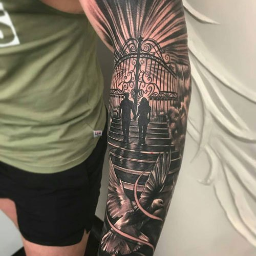 Shoulder Arm Tattoo Designs