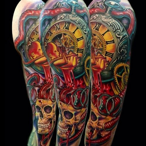 Upper Arm Tattoos For Men