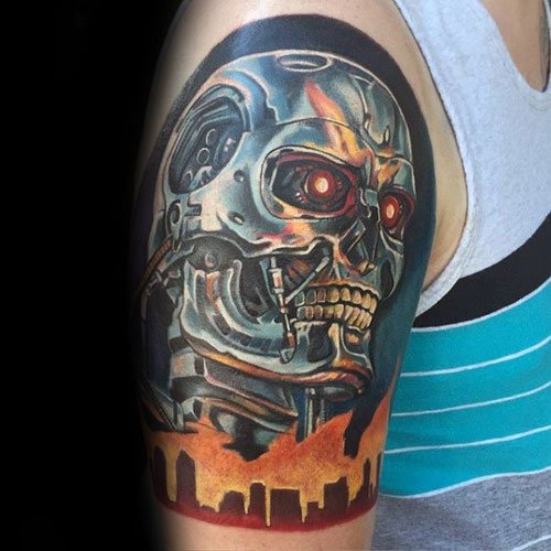 3D Half Sleeve Tattoo Designs