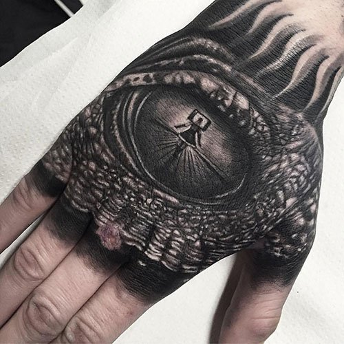 Amazing Hand Tattoo Designs