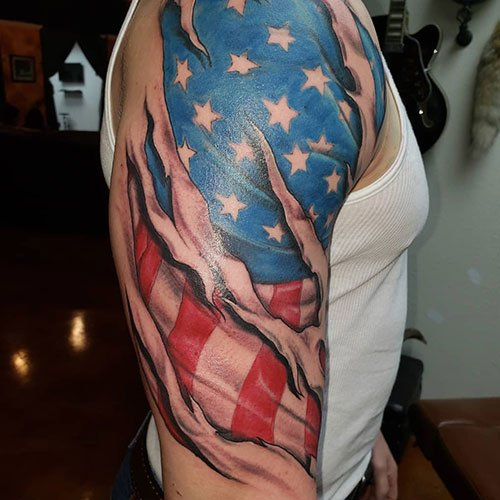 American Traditional Sleeve
