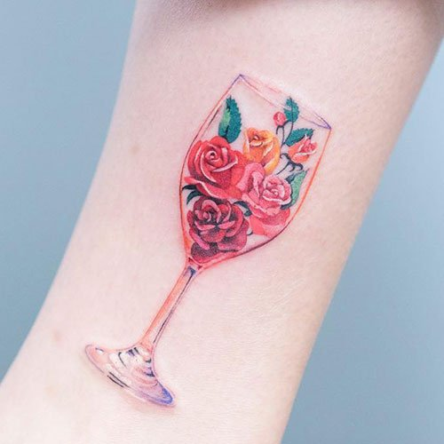 Awesome Flower Forearm Tattoo Designs