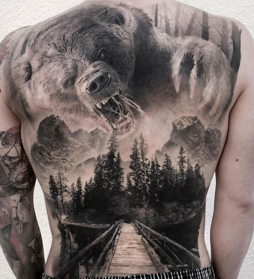 Awesome Hunting Tattoo Ideas For Men