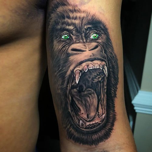 Awesome Inner Bicep Tattoo Designs