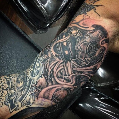 Awesome Right Bicep Tattoos
