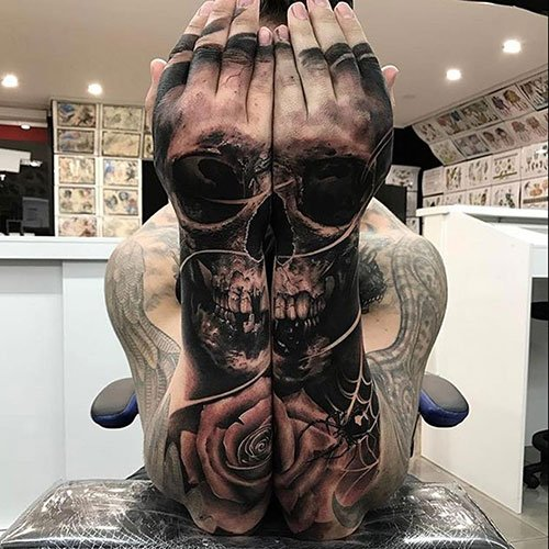 Awesome Sleeve Tattoo Designs For Guys