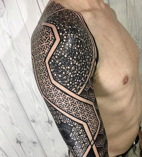 Badass Half Sleeve Tattoo