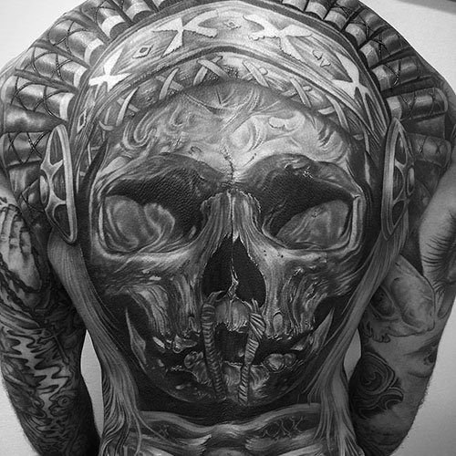 Best Back Tattoo Designs For Men