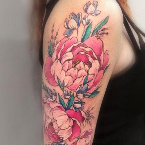 Best Carnation Flower Tattoo