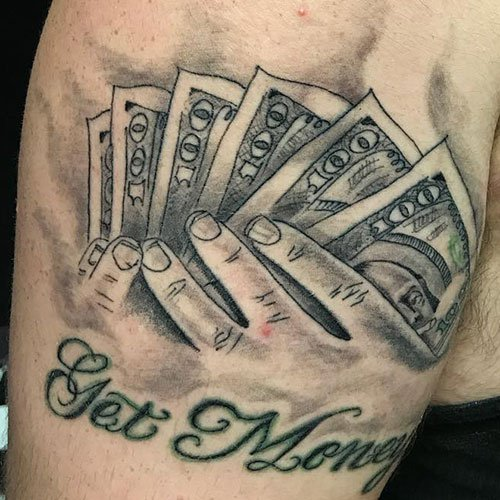 Best Get Money Tattoo Designs