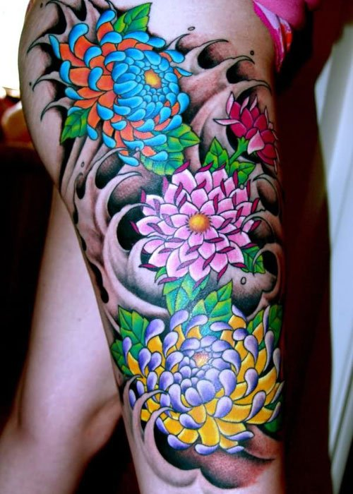 Japanese Flower Tattoo Designs: Designs, Ideas And Meanings