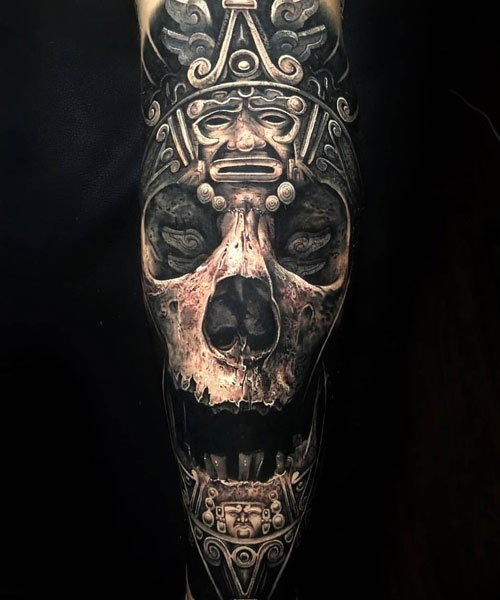 Best Skull Sleeve Tattoo Designs