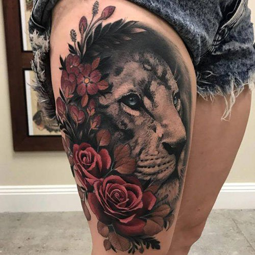 Best Thigh Designs For Females