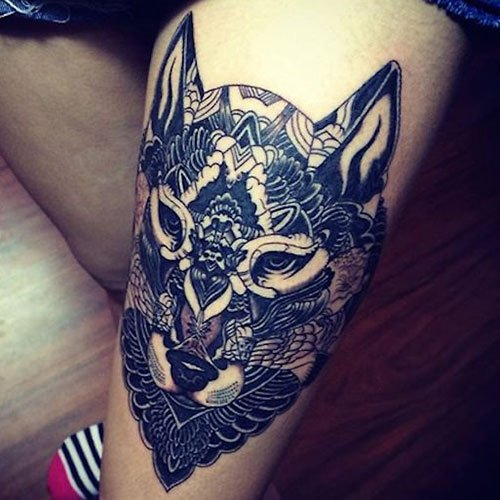 Best Thigh Tattoo Ideas