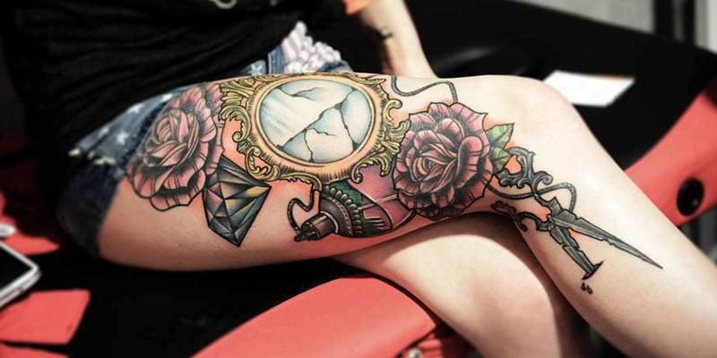 Best Thigh Tattoos For Women