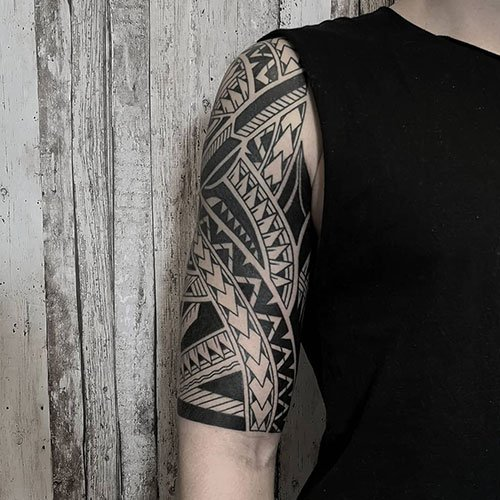 Best Tribal Sleeve Tattoos For Guys