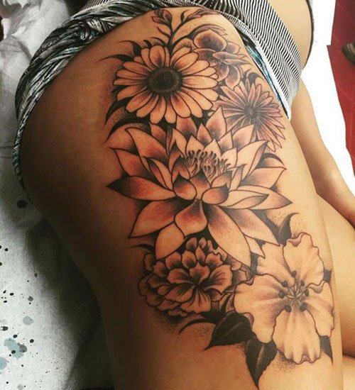 Popular Flower Tattoos: Designs, Ideas And Meanings