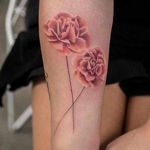 Carnation Tattoo