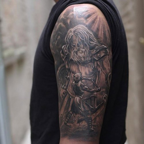 Christian Half Sleeve Tattoo Ideas