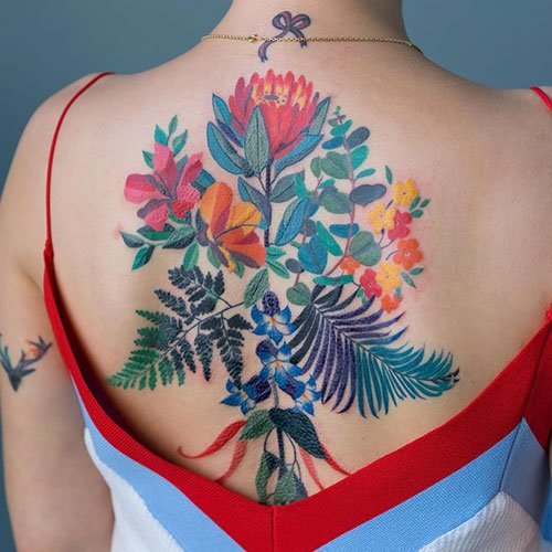 Cool Floral Tattoo Designs