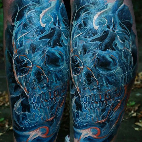 Cool Leg Tattoo Designs For Men
