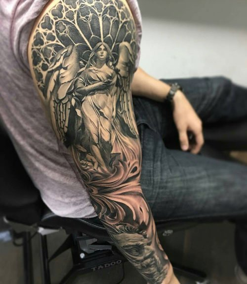 Cool Sleeve Tattoo Designs For Men