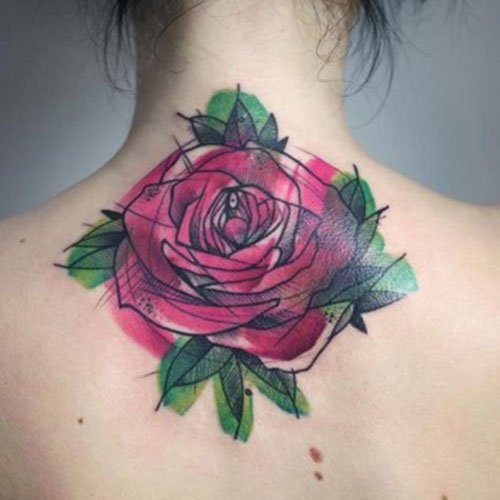 Cute Flower Tattoo Designs For Women