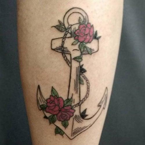 Flower Tattoos That Mean Strength