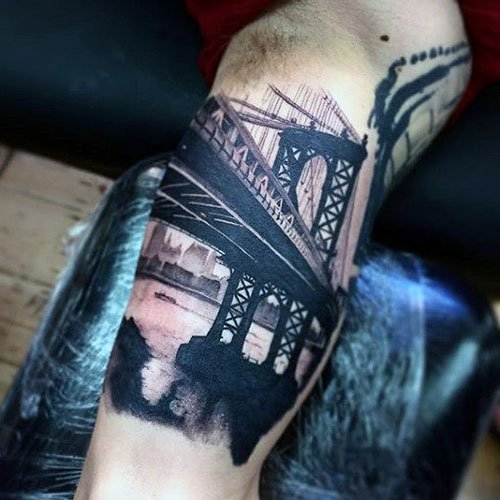 Full Inner Arm Tattoo Designs