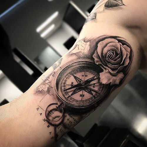 Inner Upper Arm Tattoo Ideas