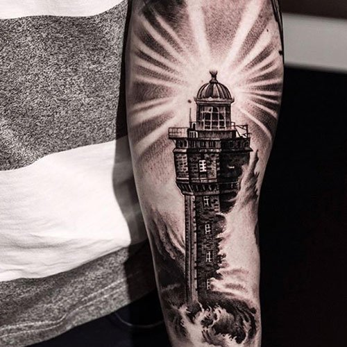 Lower Half Sleeve Tattoo Ideas