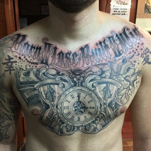 Money Chest Tattoo