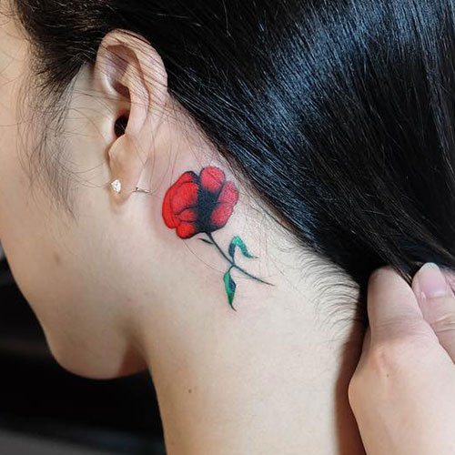 Small Rose Tattoo Ideas For Girls